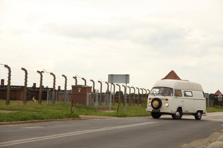 reportage dans la ville d'Oswiecim et dans l'ancien camp d'Auschwitz, en Pologne