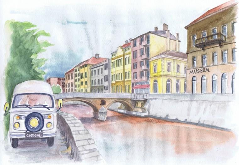 Bulli Pont Latin a¦Ç Sarajevo - Copie