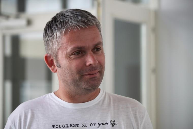 Elvedin Nezirovic dirige depuis trois ans le Centre Pavarotti de Mostar.