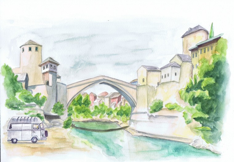 pont Mostar bulli  - Copie