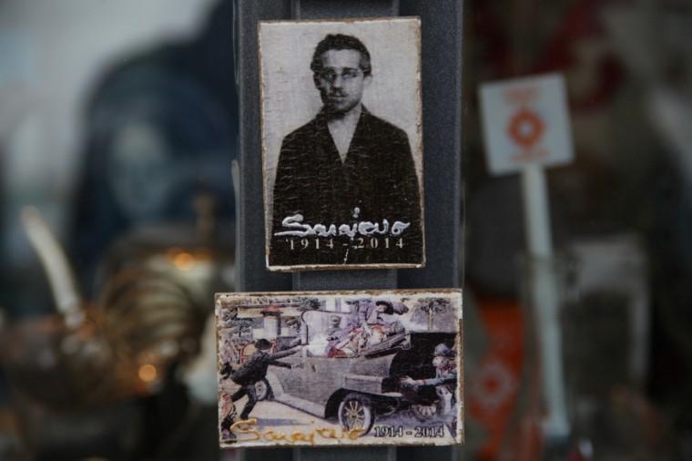 souvenirs de Gavrilo Princip, Sarajevo