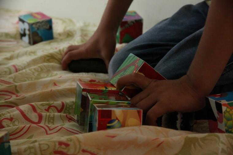 Dans le centre d'Harmanli, environ 300 enfants étaient recensés en juin 2014, soit le tiers des réfugiés.