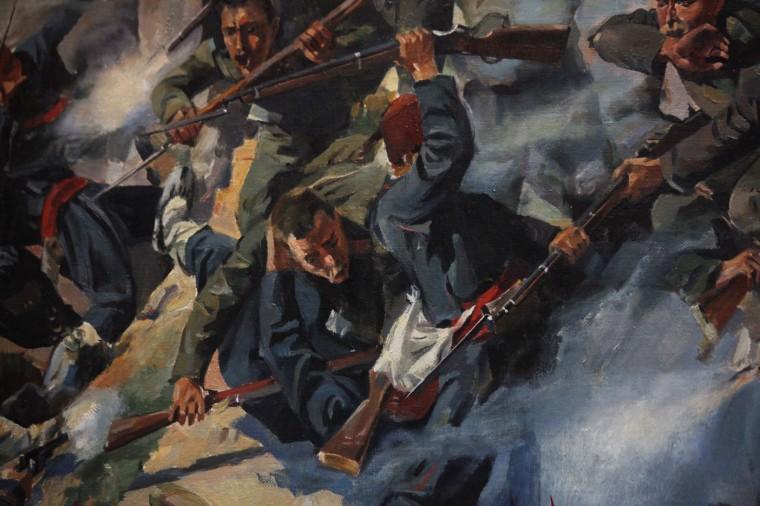 L'histoire des batailles contre les Turques est un des éléments forts de la mémoire nationale bulgare.